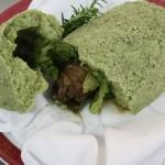 北海道産ワインラムの一皿。