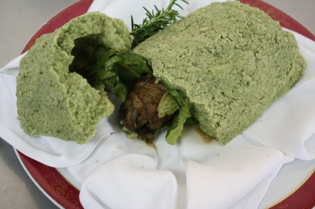 香草岩塩焼き