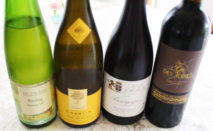 グラスワイン(シャンパーニュ・赤・白ワイン)のご紹介