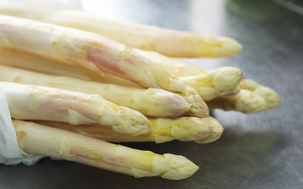 旬の食材「ジロル茸・ホワイトアスパラ・アルパラソパージュ」