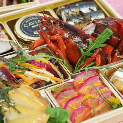 フランス料理店のシェフが作る「シェ・ヒグチの特選食材おせち2020」